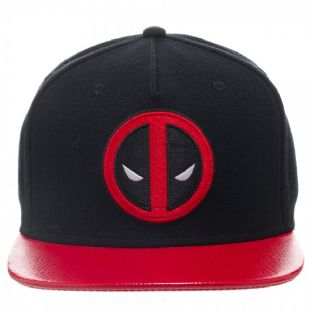 Marvel Deadpool Flat Peak Baseball Cap
